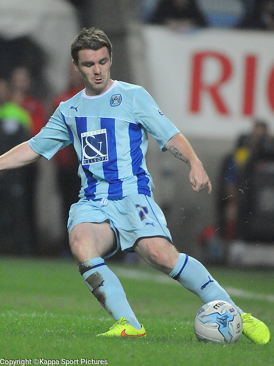 John Fleck, Coventry City,  Coventry City v Gillingham, League One, Back at the Ricoh Stadium for First Time, after playing at Six Fields Northampton.<br /> Friday 5th September 2014