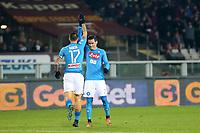 15.12.2017 - Torino - Serie A 2017-18 - 17a giornata  -  Torino-Napoli  nella  foto: Marek Hamsik esulta dopo il gol del 3 a 0