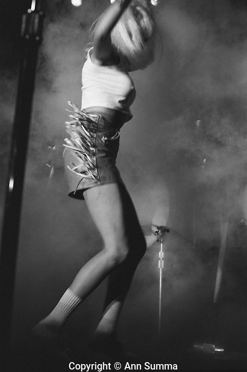 Wendy O . Williams of the Plasmatics