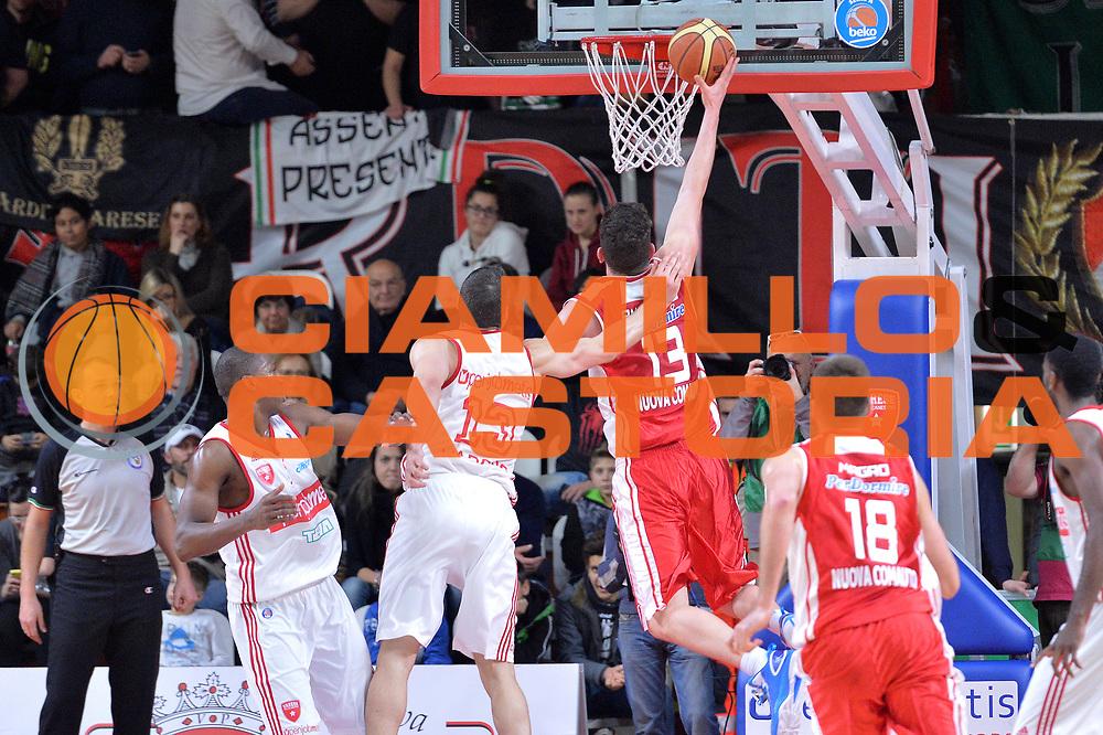 DESCRIZIONE : Varese Lega A 2014-15 Openjobmetis Varese Giorgio Tesi Group Pistoia<br /> GIOCATORE : Amoroso Valerio<br /> CATEGORIA : Tiro<br /> SQUADRA : Giorgio Tesi Group Pistoia<br /> EVENTO : Campionato Lega A 2014-2015<br /> GARA : Openjobmetis Varese Giorgio Tesi Group Pistoia<br /> DATA : 04/01/2015<br /> SPORT : Pallacanestro <br /> AUTORE : Agenzia Ciamillo-Castoria/I.Mancini<br /> Galleria : Lega Basket A 2014-2015 <br /> Fotonotizia : Varese Lega A 2014-15 Openjobmetis Varese Giorgio Tesi Group Pistoia<br /> Predefinita :