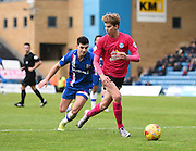 Peterborough midfielder Martin Samuelsen in action during the Sky Bet League 1 match between Gillingham and Peterborough United at the MEMS Priestfield Stadium, Gillingham, England on 23 January 2016. Photo by David Charbit.
