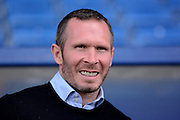 Oxford manager Michael Appleton during the Sky Bet League 2 match between Oxford United and Stevenage at the Kassam Stadium, Oxford, England on 25 March 2016. Photo by Alan Franklin.