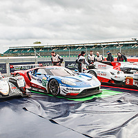 Parc Ferme winners at FIA WEC 6 Hours of Silverstone 2017, Silverstone International Circuit, on 16.04.2017