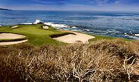 Pebble Beach Golf Links  - 7th hole - Pebble Beach, CA