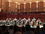The Davis Mariachi Pantera performs with the Houston Youth Symphony on Sunday May, 1, 2016.
