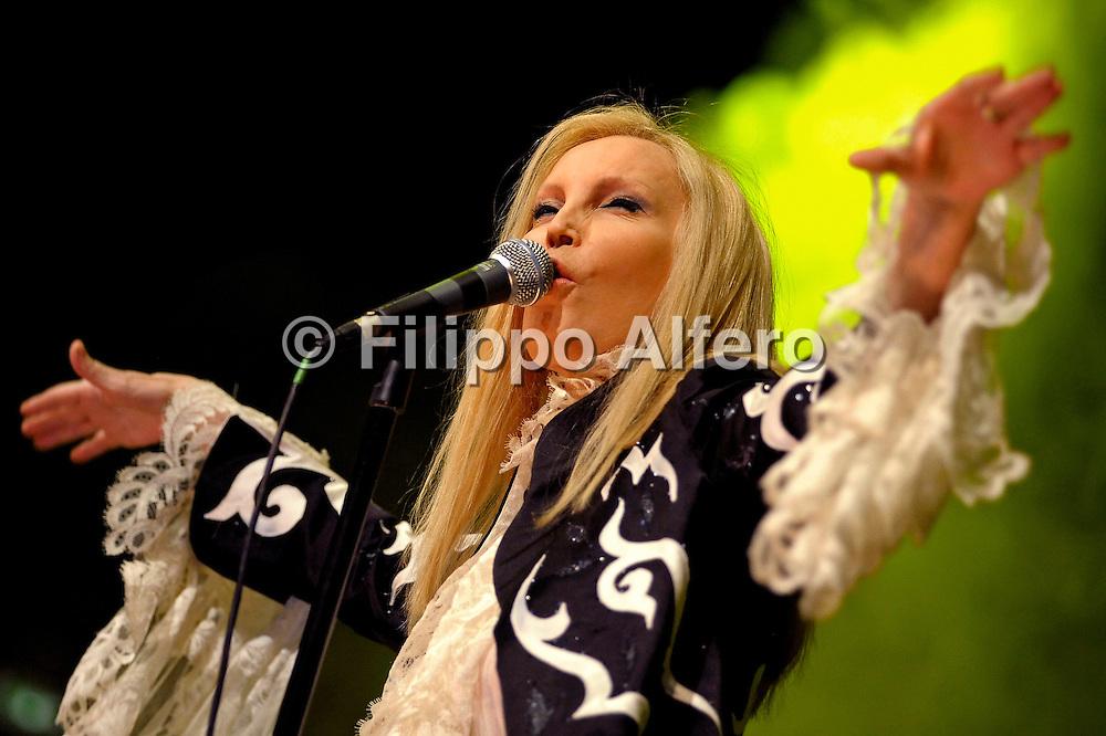 © Filippo Alfero<br /> Torino, 04/05/2009<br /> spettacolo<br /> Patty Pravo in concerto all' Auditorium del Lingotto