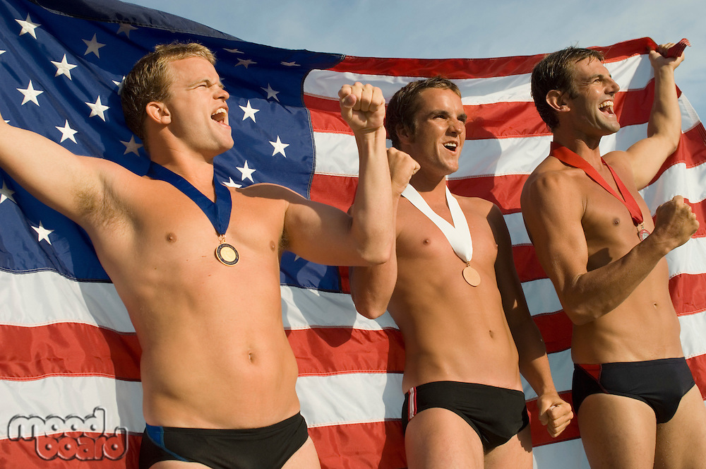 Triumphant Swimmers