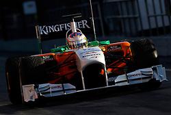 Motorsports / Formula 1: World Championship 2011, Testing in Barcelona, test, 15 Paul di Resta (GB, Force India F1 Team )