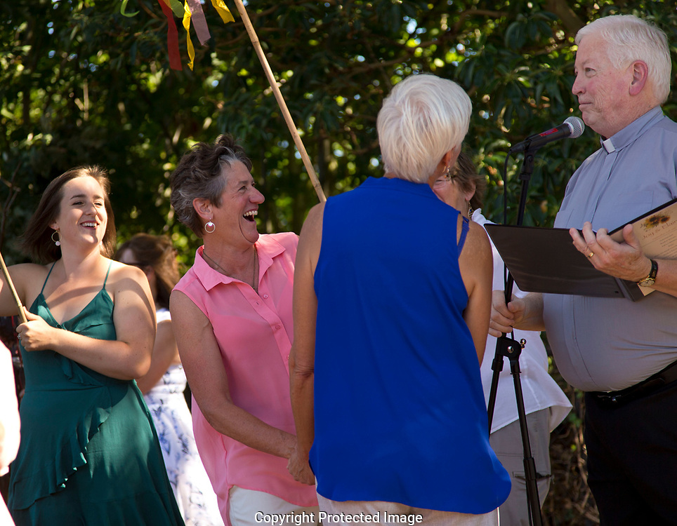 Elaine and Joy's wedding in Seattle, Saturday, Sept. 2, 2017. (Photo/John Froschauer)