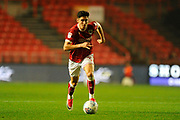 Callum O'Dowda (11) of Bristol City on the attack during the EFL Sky Bet Championship match between Bristol City and Bolton Wanderers at Ashton Gate, Bristol, England on 26 September 2017. Photo by Graham Hunt.