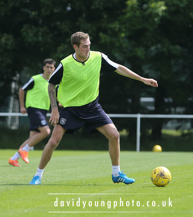 Dundee new boy Kevin Holt - Dundee pre-season training at University grounds, Riverside<br /> <br />  - &copy; David Young - www.davidyoungphoto.co.uk - email: davidyoungphoto@gmail.com