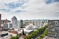 Vista do centro da cidade. Joinville, Santa Catarina, Brasil. / <br /> Downtown aerial view. Joinville, Santa Catarina, Brazil.