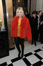 JO WOOD at the launch of the Claridge's Christmas Tree designed by John Galliano for Dior held at Claridge's, Brook Street, London on 1st December 2009.