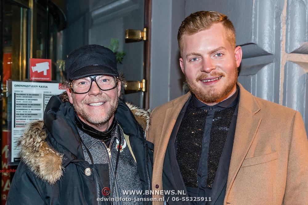 NLD/Amsterdam/20161222 - Première 32ste Wereldkerstcircus, Bastiaan van Schaik en partner Ramon Heinhuis