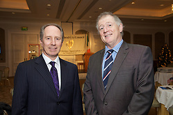 17/12/2015<br /> 17 December 2015<br /> Pictured at The Ireland - U.S. Council Holiday Season Member - Guest Reception at the InterContinental Hotel, Dublin were (L-R):<br /> Aidan Smyth, Labplan and <br /> Terry Brennan, Chatham Design.