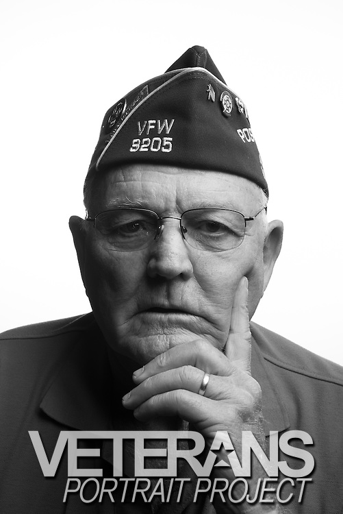 Joseph A. Smith<br /> Army<br /> E-5<br /> Combat Engineer<br /> Nov. 1959 - Dec. 1966<br /> Vietnam<br /> <br /> Veterans Portrait Project<br /> Louisville, KY<br /> VFW Convention <br /> (Photos by Stacy L. Pearsall)