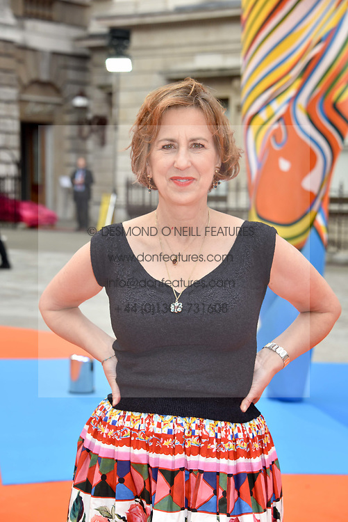 Kirsty Wark at the Royal Academy of Arts Summer Exhibition Preview Party 2017, Burlington House, London England. 7 June 2017.