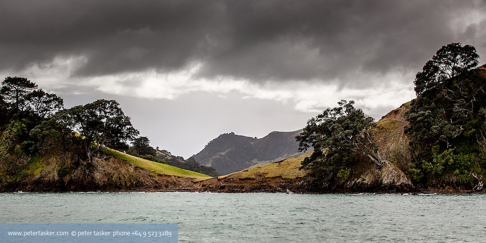 Deadmans Bay, on the southern coast of Waiheke Island, New Zealand.