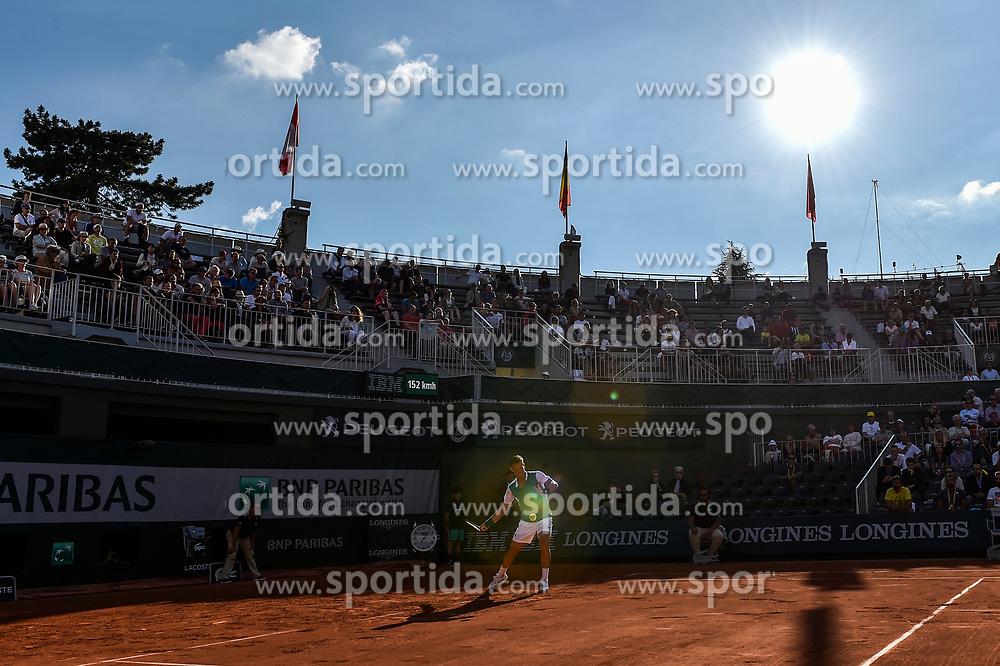 30.05.2017, Roland Garros, Paris, FRA, ATP Tour, French Open, im Bild Tomas Berdych (CZE) // during the French Open Tournament of the ATP Tour at the Roland Garros in Paris, France on 2017/05/30. EXPA Pictures © 2017, PhotoCredit: EXPA/ Vianney Thibaut