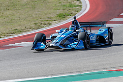 February 12, 2019 - U.S. - AUSTIN, TX - FEBRUARY 12: Max Chilton (59) in a Chevrolet powered Dallara IR-12 exits turn 2 during the IndyCar Spring Training held February 11-13, 2019 at Circuit of the Americas in Austin, TX. (Photo by Allan Hamilton/Icon Sportswire) (Credit Image: © Allan Hamilton/Icon SMI via ZUMA Press)