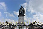 Nederland, Vlissingen, 14-9-2014Het standbeeld van de beroemde zeevaarder, opperbevelhebber van de hollandse marine in de gouden eeuw, Michiel de Ruyter.FOTO: FLIP FRANSSEN/ HOLLANDSE HOOGTE