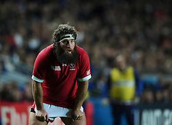 Hubert Buydens of Canada  - Mandatory byline: Joe Meredith/JMP - 07966386802 - 01/10/2015 - Rugby Union, World Cup - Stadium:MK -Milton Keynes,England - France v Canada - Rugby World Cup 2015