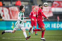 Oussama Assaidi of FC Twente during the Dutch Eredivisie match between FC Twente Enschede and FC Groningen at the Grolsch Veste on March 04, 2018 in Enschede, The Netherlands