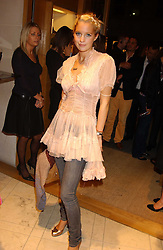 """MARISSA MONTGOMERY at a party hosted by Christopher Bailey to celebrate the launch of """"The Snippy World of New Yorker Fashion Artist Michael Roberts"""" held at Burberry, 21-23 New Bond Street, London on 20th September 2005.<br /><br />NON EXCLUSIVE - WORLD RIGHTS"""