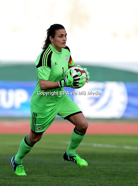Fifa Womans World Cup Canada 2015 - Preview //<br /> Algarve Cup 2015 Tournament ( Vila Real San Antonio Sport Complex - Portugal ) - <br /> Germany vs Sweden 2-4   -  Nadine Angerer of Germany