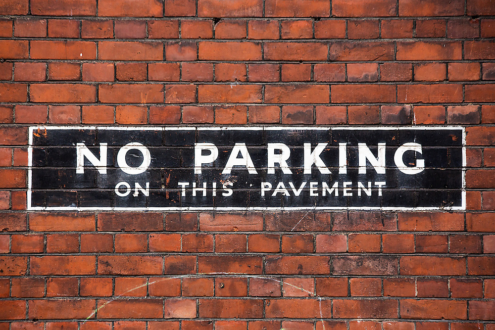 No Parking On This Pavement
