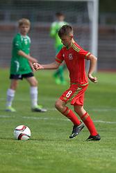 NEWPORT, WALES - Thursday, August 4, 2016: Regional Development Boys' Dan Malone during the Welsh Football Trust Cymru Cup 2016 at Newport Stadium. (Pic by Paul Greenwood/Propaganda)