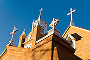 San Felipe de Neri Church, Old Town, Albuquerque, NM.