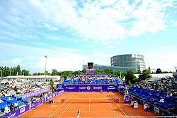 May 23, 2018 - France - Internationaux de tennis de Strasbourg - Court central Patrice Dominguez (Credit Image: © Panoramic via ZUMA Press)