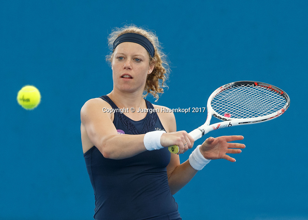 LAURA SIEGEMUND (GER)<br /> <br /> Tennis - Brisbane International  2017 - WTA -  Pat Rafter Arena - Brisbane - QLD - Australia  - 5 January 2017. <br /> &copy; Juergen Hasenkopf