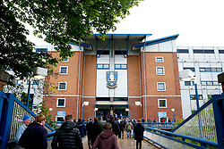 A general view of Hillsborough Stadium - Mandatory by-line: Matt McNulty/JMP - 17/05/2017 - FOOTBALL - Hillsborough - Sheffield, England - Sheffield Wednesday v Huddersfield Town - Sky Bet Championship Play-off Semi-Final 2nd Leg