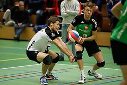 20161126 NED: Beker, Sliedrecht Sport - Pelster Cito: Sliedrecht <br />Maarten Janssen, Rob de Wit <br />©2016-FotoHoogendoorn.nl / Pim Waslander