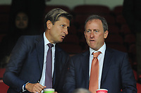 Football - 2016 / 2017 Premier League - Crystal Palace vs Stoke City<br /> <br /> American billionaire Joshua Harris, now a part-owner of Crystal Palace with Chairman Steve Parrish at Selhurst Park<br /> He owns two franchises in major American sports - the NBA's Philadelphia 76ers and NHL side the New Jersey Devils.<br /> <br /> Credit : Colorsport / Andrew Cowie