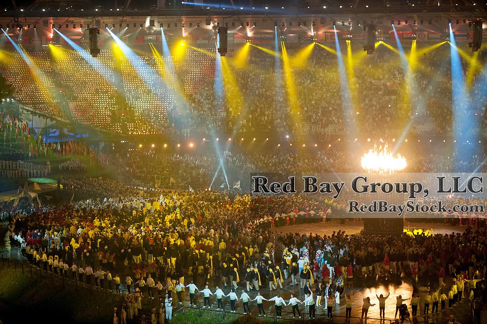 Opening Ceremony - Olympic Stadium - London 2012 Olympic Games - Olympic Park, London, United Kingdom -  27 July 2012