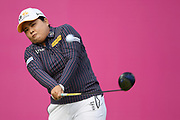 Inbee Park (Kor) competes during the final round of LPGA Evian Championship 2018, Day 7, at Evian Resort Golf Club, in Evian-Les-Bains, France, on September 16, 2018, Photo Philippe Millereau / KMSP / ProSportsImages / DPPI