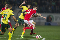 March 18, 2017 - Pacos De Ferreira, Pacos Ferreira, Portugal - Benfica's Swedish defender Victor Lindelof during the Premier League 2016/17 match between Pacos Ferreira and SL Benfica, at Mata Real Stadium in Pacos de Ferreira on March 18, 2017. (Credit Image: © Dpi/NurPhoto via ZUMA Press)