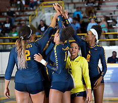 2016 A&T Volleyball vs Elon University