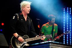 The Offspring no palco principal do Planeta Atlântida 2014/RS, que acontece nos dias 07 e 08 de fevereiro de 2014, na SABA, em Atlântida. FOTO: Vinícius Costa/ Agência Preview
