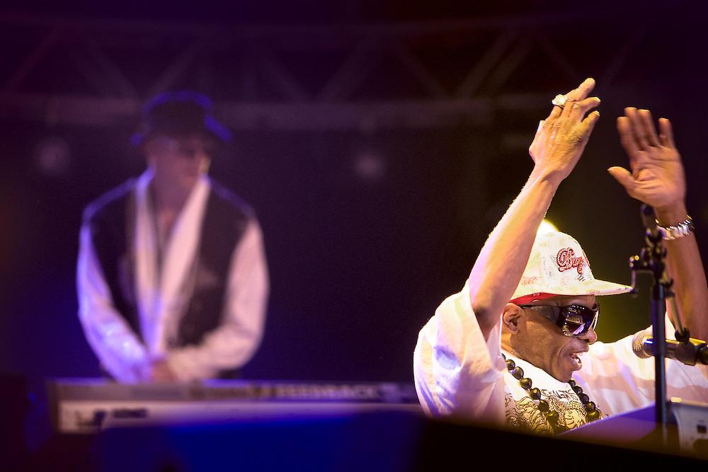 Nederland. Rotterdam, 15 juli 2007.<br /> North Sea Jazz festival. Sly and the Family Stone.<br /> Foto Martijn Beekman <br /> NIET VOOR TROUW, AD, TELEGRAAF, NRC EN HET PAROOL