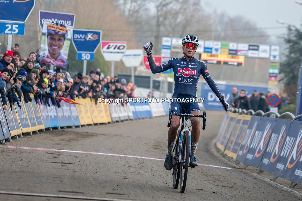 2020-01-01 Cycling: dvv verzekeringen trofee: Baal: New Colours, same outcome: Ceylin del Carmen Alvarado taking the win
