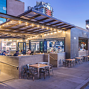 Edinger Architects, Lofty Coffee, San Diego California, Patrick Edinger, Restaurant Design, Hospitality Design, Coffee, Urban Architecture, Little Italy, San Diego Harbor, Interior Design, Kitchen Design, Architectural Photography, San Diego Architectural Photographer, Southern California Architectural Photographer