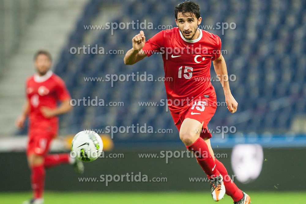 24.05.2012, Red Bull Arena, Salzburg, AUT, SLFC Summerleague, Tuerkei vs Georgien, im Bild Mehmet Topal, (TUR, #15) // Mehmet Topal, (TUR, #15) during friendly Football Match between the Nationalteams of Turkey and Georgia at the Red Bull Arena, Salzburg, Austria on 2012/05/24. EXPA Pictures © 2012, PhotoCredit: EXPA/ Juergen Feichter