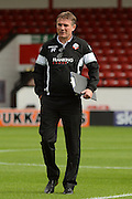 Bolton Wanderers manager Phil Parkinson during the EFL Sky Bet League 1 match between Walsall and Bolton Wanderers at the Banks's Stadium, Walsall, England on 17 September 2016. Photo by Alan Franklin.