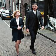 Mattheus Passion 2000 Naarden, staatssecretaris Ybema met zijn vrouw