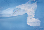Abstract Design of Sunlight on Crusted Snow