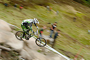 UCI World Cup downhill, Fort William, Scotland. June 2011